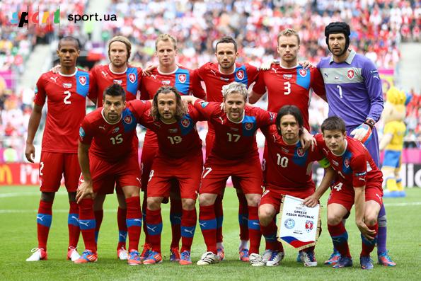 Состав в сборной по футболу чехии