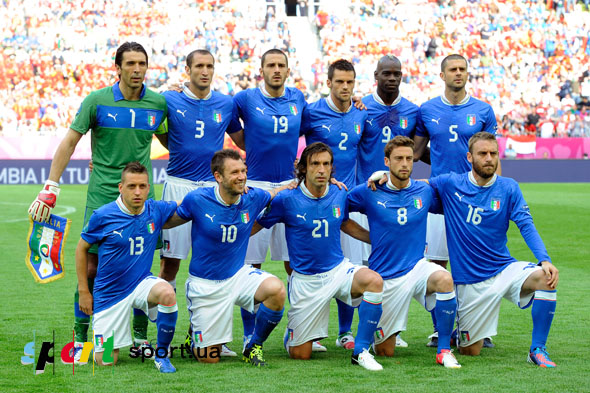 Без боли евро 2012 сборная италии по